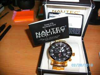 Nautec No Limit,  Racing Chronograph,  Ch,  Eta G 10 Bild