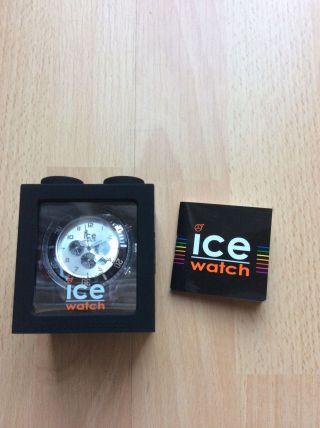 Ice Watch Chronograph Schwarz Silber Bild