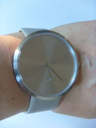 M&m Germany Uhr Damenuhr M11881 - 827 Jumbo Big Time Silber Grau Graphit Bild