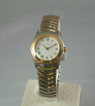 Ebel Classic Wave,  St.  /750er Gold Damen Mini Modell 1157f11/0225, Bild