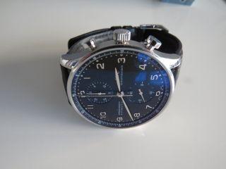 Iwc Portugieser Chronograph Automatic Armbanduhr Für Herren Iw3714 - 38 Bild