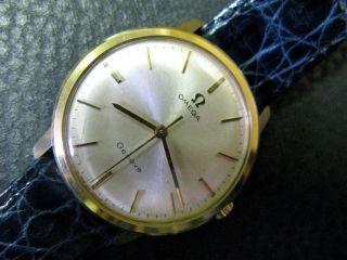 Omega Geneve In 14 K. T Gold - Vintage Bild