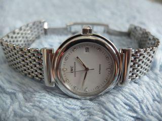 Iwc Da Vinci Sl Ref.  3528 Automatik Herrenuhr Uhr Edelstahl Top Bild