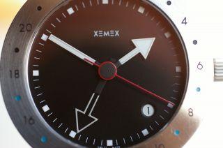 Xemex Offroad Gmt Automatic - Armbanduhr Eta 2893 - 2 Stahlarmband Top Design Bild