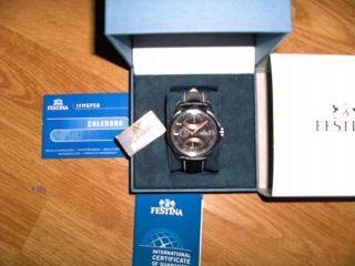 Herren Armbanduhr (festina Dual Time) Bild