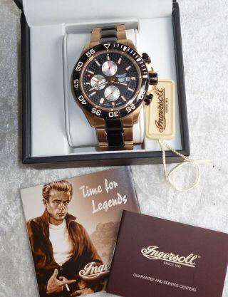 Ingersoll Classic Pico Armbanduhr Automatik Für Herren (in1627rbkm) Bild