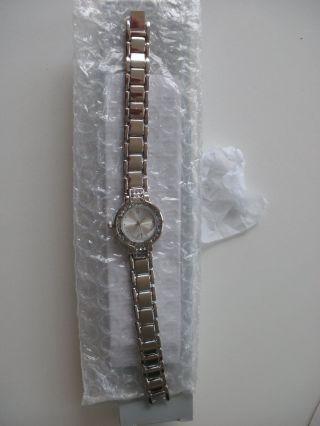 Da - Armbanduhr,  Mit Ring,  Silberfarben,  Modeschmuck,  Noname,  Unbenutzt Bild