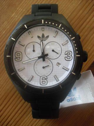 , Adidas,  Chrono,  Adidas Uhr,  Uhr,  Schwarz,  Box,  Herren Uhr,  Sport,  Watch Bild