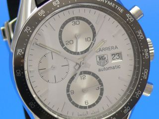Tag Heuer Carrera Date Chronograph Cv2011 Vom Uhrencenter Berlin Bild