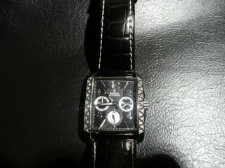Festina Damen Uhr Multifunktion Armbanduhr Leder F16524 Schwarz Bild