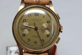 Chronographe Suisse 18k Handaufzug Ohne Box Avs2742 - 4087 Dif Rwt1 Bild