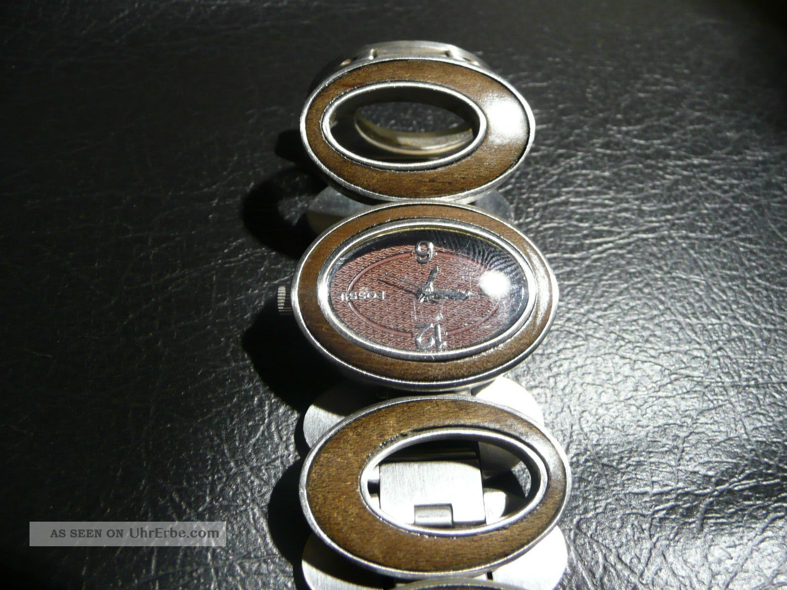 Fossil Armbanduhr Damen Holz ~ Fossil Damen Uhr Armbanduhr Holz Armbanduhren Bild