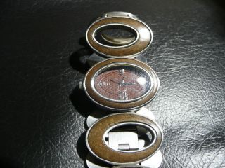 Fossil Damen Uhr Armbanduhr Holz Bild