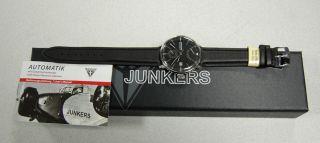 Junkers 6060 - 2 Bauhaus Automatikuhr Mit Gangreserve,  Herrenuhr Top Bild