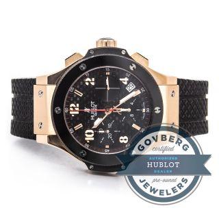 Hublot - Urknall 18 Karat Roségold Keramik Automatik Uhr - 341.  Pb.  131.  Rx Bild