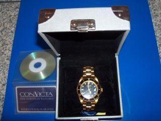 Convicta Herren Armbanduhr Bild