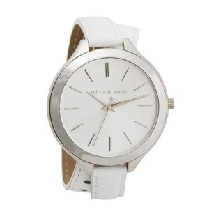 Michael Kors Uhr Mk2325 Slim Runway Double - Wrap Damenuhr Leder Damen Armbanduhr Bild
