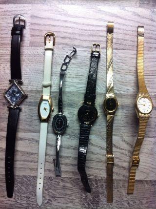 ❤️❤️ 6 Damen Uhren Für Sammler ❤️❤️ Bild