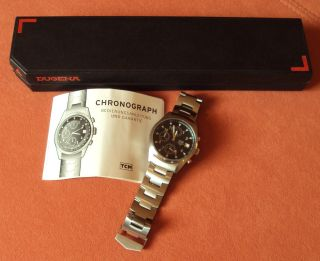 Armbanduhr,  Chronograph,  Tcm,  In Geschenke - Box,  Und Unbenutzt Bild