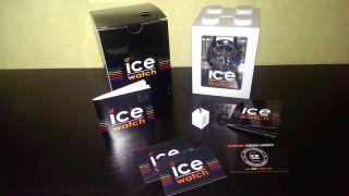Ice Watch Chrono Black Sili White Big Ch.  Bw.  B.  S.  10 Chronograph Ovp Bild