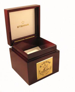 Luxus Uhrenbox Edelholz Schatulle Schuckkästchen Gediegene Geschenkbox Bild