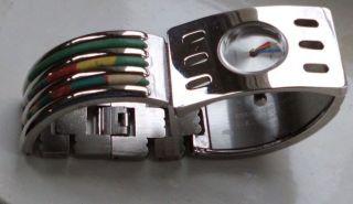Damenuhr Armbanduhr Metall Bild