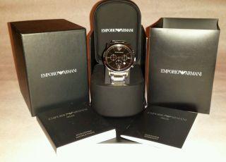 Emporio Armani Ar2434 Np 359,  - Uhr Herrenuhr Armbanduhr Bild