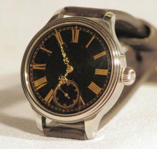 Armbanduhr Vacheron & Constantin 50mm Emaille Mariageuhr Glasboden - Top Bild