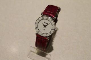 Jowissa Swiss Made Damenuhr Schweizer Uhr Armbanduhr Weiss Bild