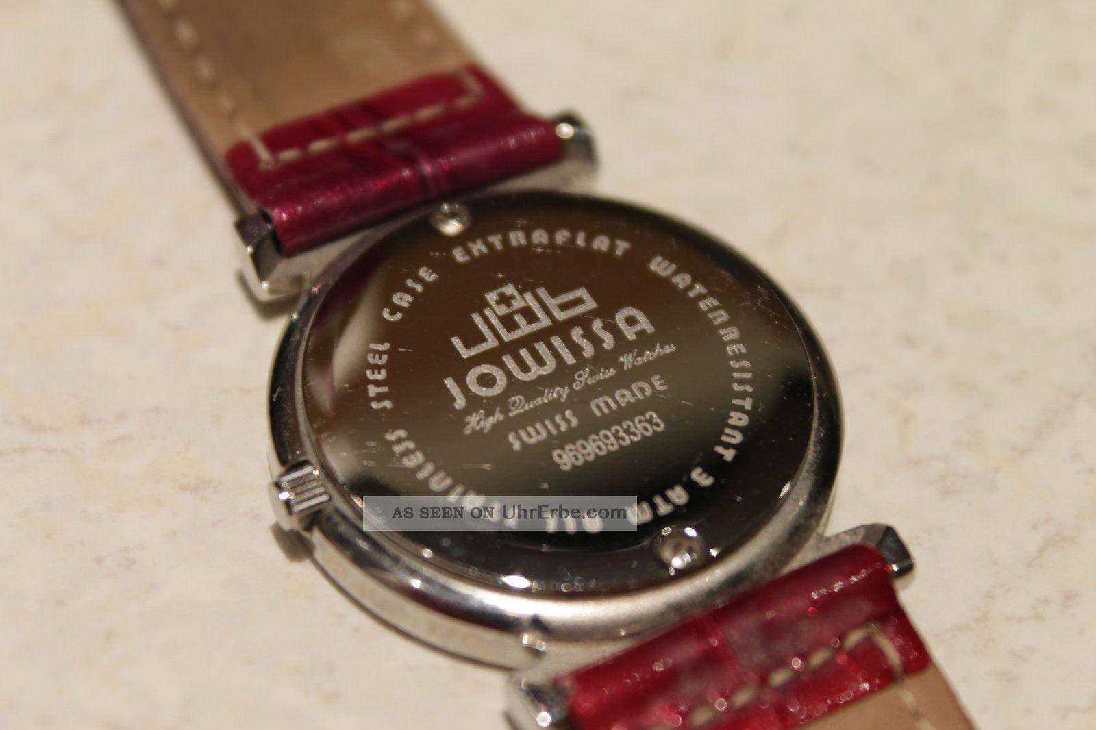 jowissa swiss made damenuhr schweizer uhr armbanduhr weiss. Black Bedroom Furniture Sets. Home Design Ideas