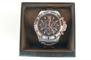 Michael Kors Mk5753 Bradshaw Luxus Glitz Jades Uhr Crystals Chronograph Everest Bild