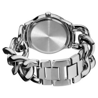 Armbanduhr Damen Akribos Tag Datum Gmt Zeit Twist Kette Mode Uhr Ak531ss Bild