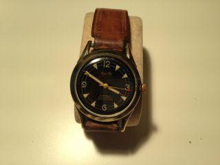 Mauthe Herren Armband Uhr,  Handaufzug,  Top,  Selten,  Vw 100 00 Kilometer Bild