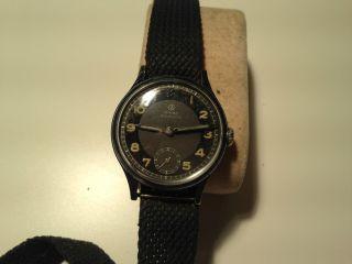 Junghans Dienst Herren Armband Uhr,  Handaufzug,  Top,  Selten,  Cal:98 Bild