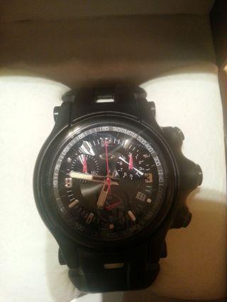 Oakley Uhr Holeshot Chronograph Black Dial / Black Rubber Bild