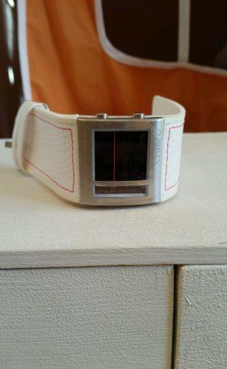 Digital Armband Uhr Unisex Weiss Bild