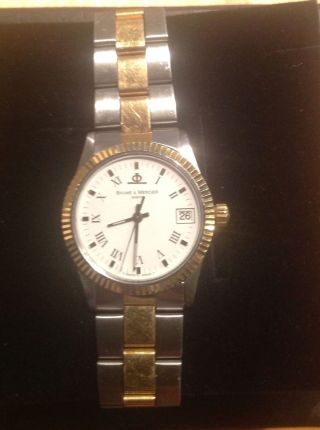 Baume & Mercier Geneve Damenuhr Armbanduhr Bild