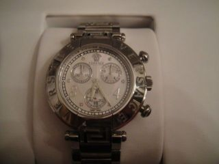 Versace Reve Chrono Herrenuhr Chronograph Ovp Np 1490€ Bild