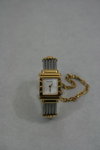 Armbanduhr Eckig,  Perlmutt - Ziffer Von Philippe Charriol - 63/10 Bild