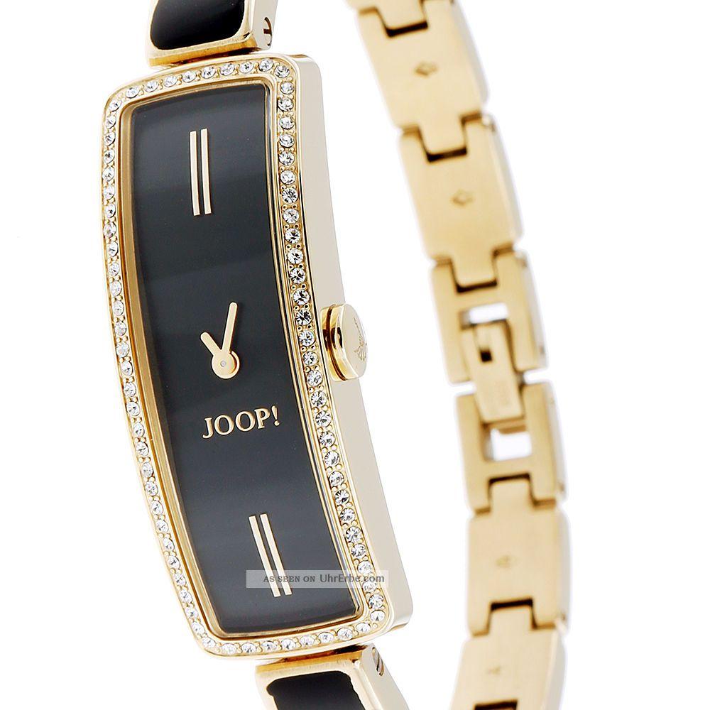 Joop Jp100782f03 Edelstahl Gold Damenuhr Schwarz Xs Nnv80wm