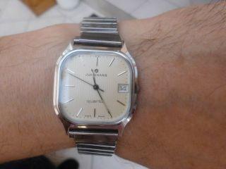 Junghans - Kultige Herrenuhr/armbanduhr - 40/1221 - 80 - Iger Jahre - Bild