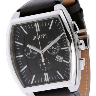 Joop Herrenuhr Classic Tonneau Jp100451f02 Edelstahl Leder, Bild