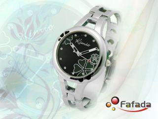 Fafada Kimio Damenuhren Quarz Armbanduhr Blätterfarbe Wechselbar Uhr Uhren Bild