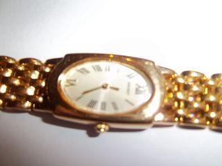Armbanduhr Für Damen Vergoldet Bild