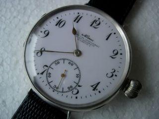 Sehr Rück Nomos - GlashÜtte Armbanduhr Nur Voll Bedient Perfekte Arbeitsbedingun Bild