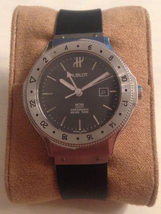 Hublot Greenwich Mean Time | Sehr Schöne Unisex Uhr Der Luxusmarke Hublot Bild