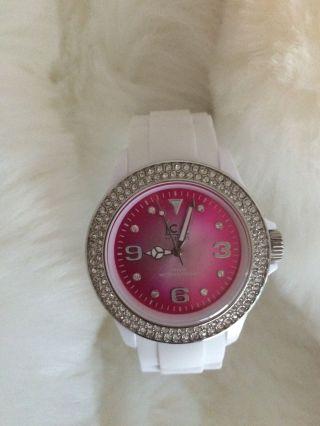 Ice - Watch Ice - Star Ice - Pink & Ice - Purple Armbanduhr Für Damen. Bild
