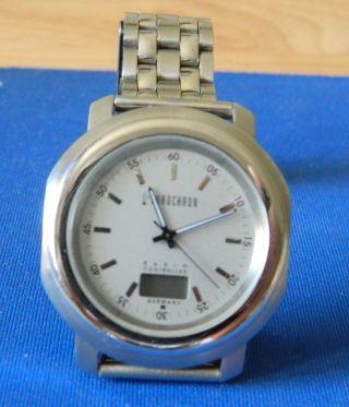 Eurochron Funk - Armbanduhr (b X H X T) 40 X 45 X 11 Mm Bild