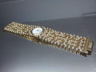 Dolce & Gabbana D&g Uhr Dw0244 Risky Edel Damenuhr Bild