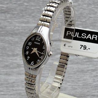 Damenarmbanduhr Pulsar Pc3271x9 Quarz Elastisches Armband Flexband Zugband Bild